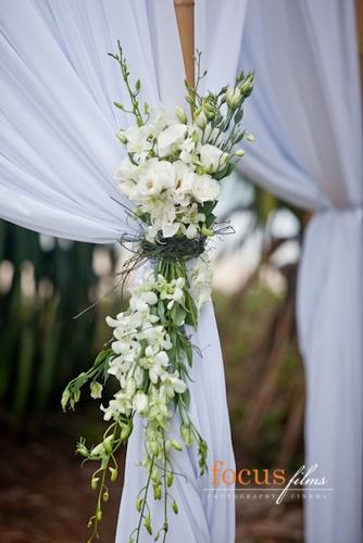Arbour floral arrangement