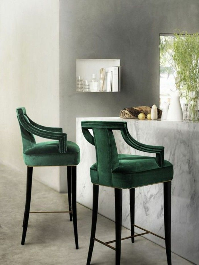 la chaise de cuisine moderne en 62