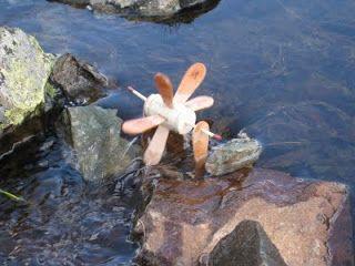 Durandonnées: Activité ludique : fabriquer un petit moulin à eau...
