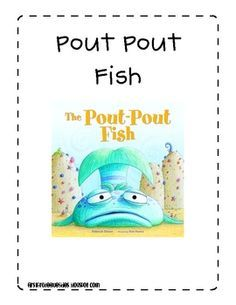 simple craft to go along with the super cute book the pout pout fish by