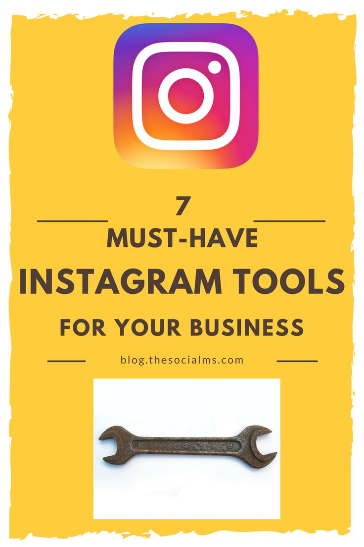 instagram-tools-With the increase of the importance of Instagram, a number of Instagram tools have emerged to help companies use Instagram more effectively and quickly.
