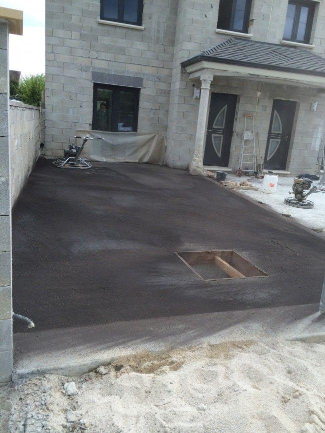 17 meilleures id es propos de pose dalle beton sur for Finition piscine beton