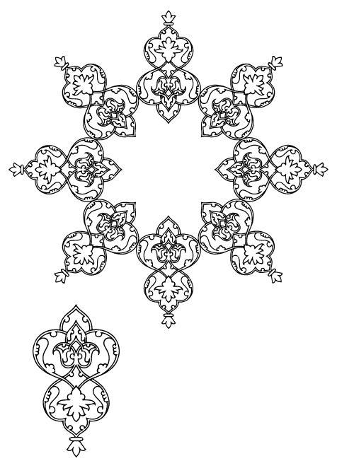 6-islamic Persian Pattern