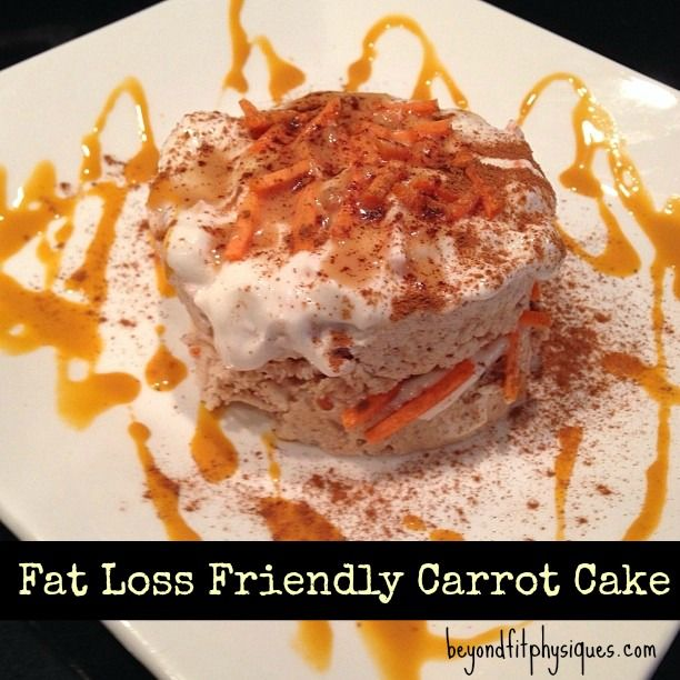 Healthy Carrot Cake With Cottage Cheese Icing