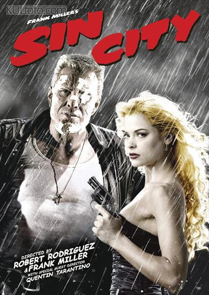 Sin City, the first graphic novel(s) I ever read. Frank Miller's brilliant talent made me fall in love with the genre. The film did a good job of looking like Miller's novel.