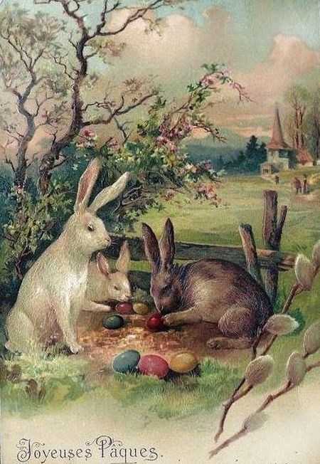 Old Easter Post Card —  (450×652)