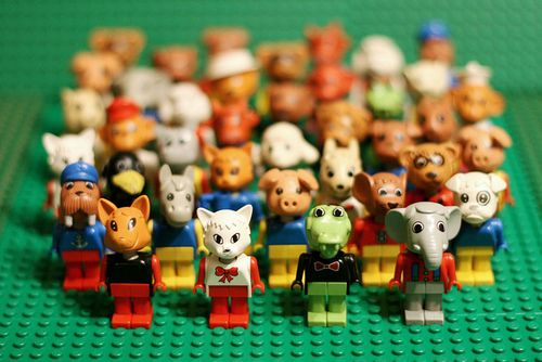 fab lego animals, never seen these before