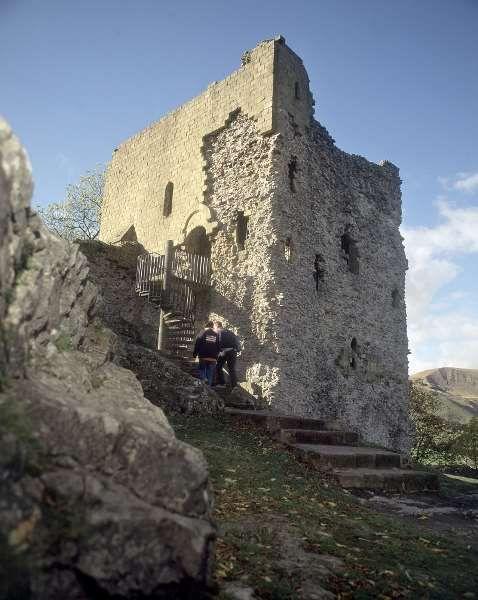 Peveril Castle   English Heritage    Sarah's favourite castle