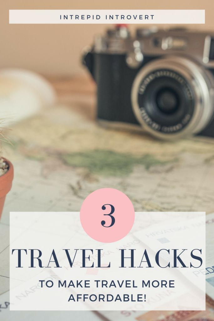 Travel doesn't have to be expensive... Here are 3 travel hacks I suggest to you, to help cut the cots of travel! I absolutely love #1 :)