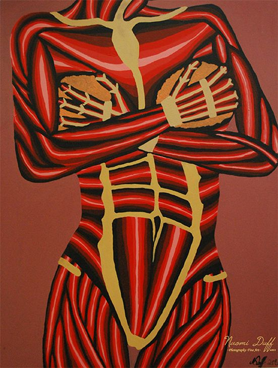 Painting: 6 of 8 Body Language Series