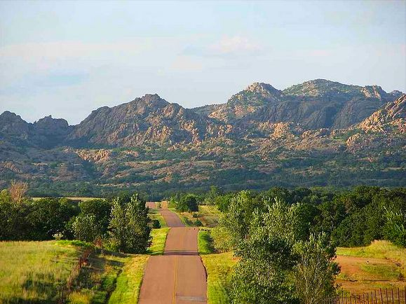 1. Wichita Mountains Scenic Byway