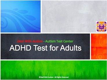 adult adhd test online - adhd test for adults