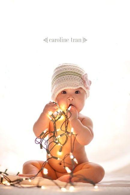 for heaven's sake, use white strung lights!