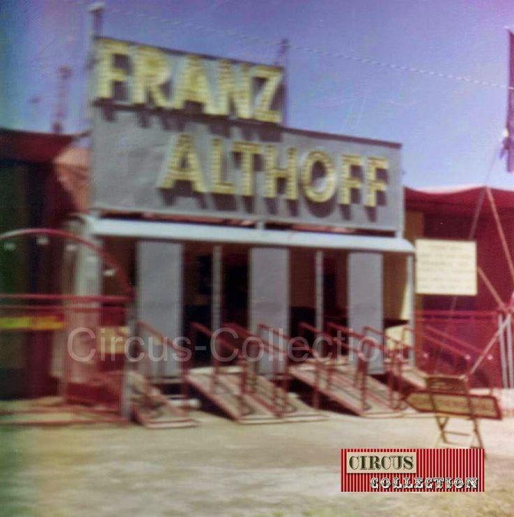 Circus collection: Le Cirque Franz Althoff 1967