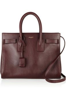 Saint Laurent Sac Du Jour mini leather tote i want it soooo bad.