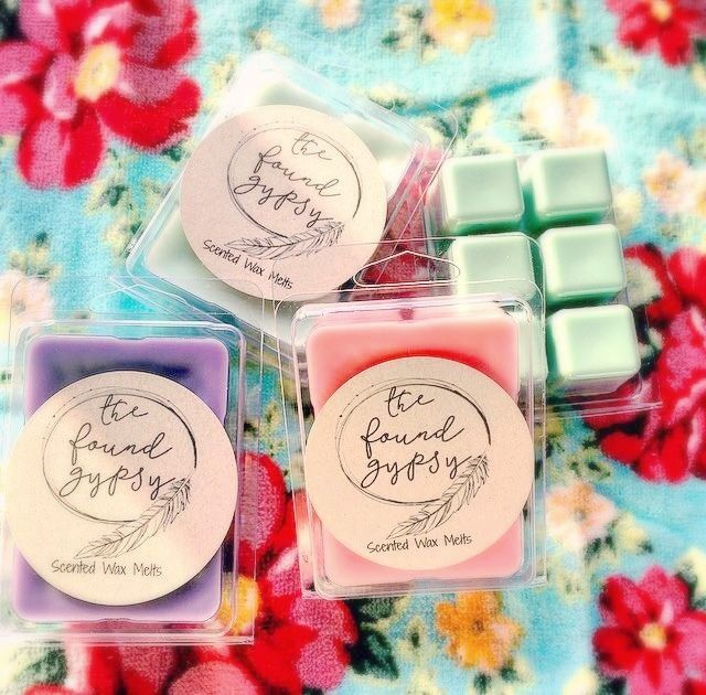Scented Wax Melts in Clamshell Packaging