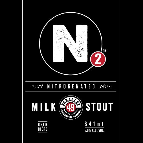 N2 Nitrogenated Milk Stout Parallel 49 Brewing #BCCRAFTBEER