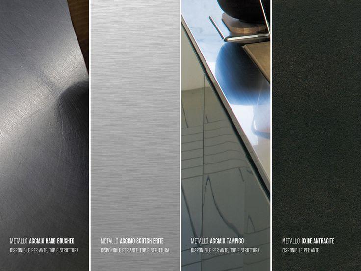 steel #kitchen #xera #XeraCucine #understate #steel