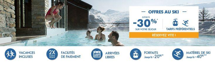 Week-end au Ski pas Cher Pierre et Vacances dès 69.00 €