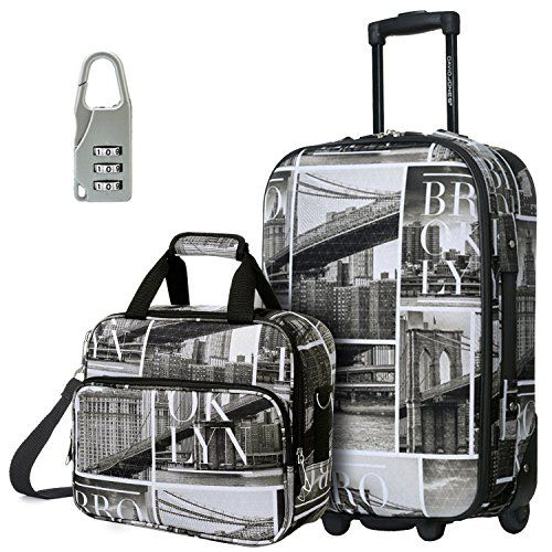New Trending Luggage: DAVIDJONES Upright Carry-on  Travel case Luggage Set, 2 Piece - BROOKLYN (BA-1001-2PV-BROOKLYN). DAVIDJONES Upright Carry-on  Travel case Luggage Set, 2 Piece – BROOKLYN (BA-1001-2PV-BROOKLYN)  Special Offer: $59.99  133 Reviews DAVIDJONES a brand comes from Paris, France. Founded in 1987,our main products are handbags and luggage. In DAVIDJONES you could always find...