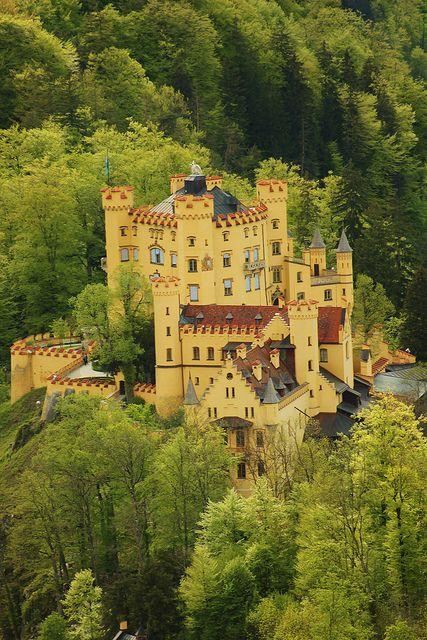 #Hohenschwangau Castle, #Bavaria, #Bayern, #Germany
