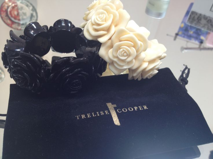 Trelise Cooper cream and black Rose Bracelets $39.95 each available now at Trelise Cooper Wellington