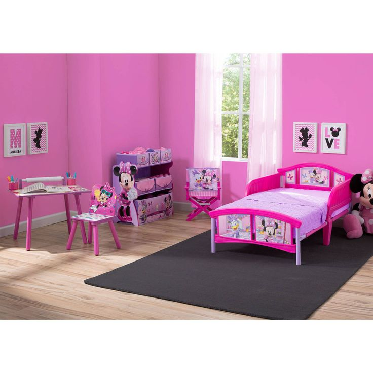 Details about Toddler Bedroom Set Girls Minnie Mouse Furniture Bed Art Desk  Toy Bin Chair Kids. 17 Best ideas about Toddler Bedroom Sets on Pinterest   Montessori