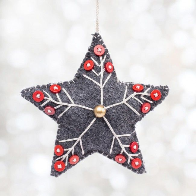 Decorate your tree with our festive Felt Ornament.