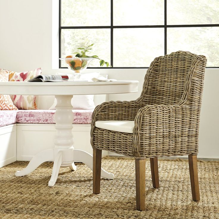 Rosalind Arm Chair Set of 2 in 2020 Comfortable dining