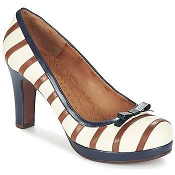Topánky Ženy Lodičky Chie Mihara AUSIA Biela / Hnedá / Modrá