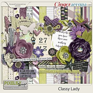 {Classic Lady} Digital Scrapbook Kit by Pixelily Designs available at Gingerscraps http://store.gingerscraps.net/Pixelily-Designs/ #digiscrap #digitalscrapbooking #pixelilydesigns #classiclady