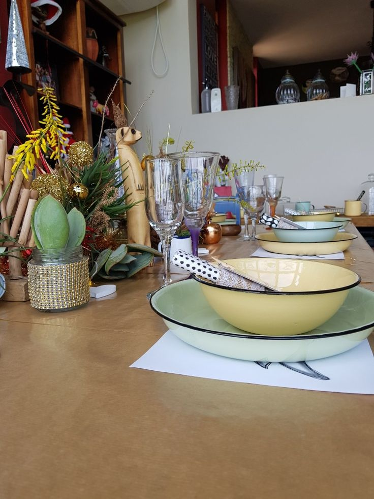 A South African Christmas table
