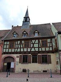 Kaisersberg (Haut-Rhin) - Maison natale d'Albert Schweitzer