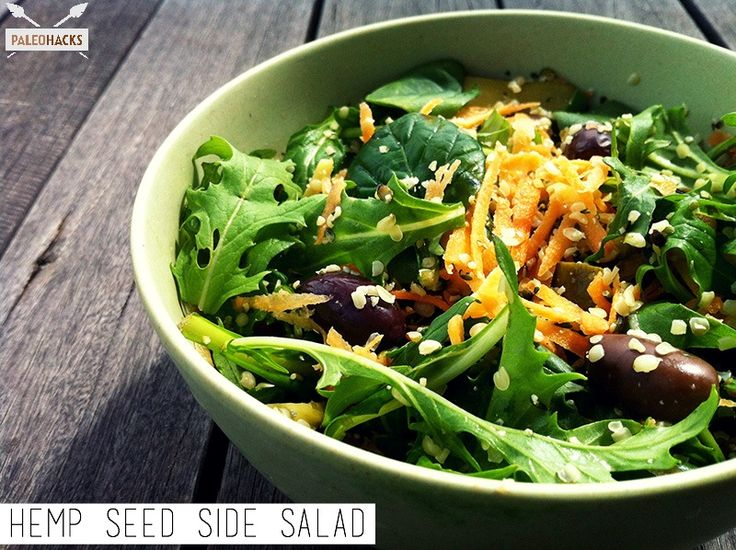 Hemp Seed Side Salad