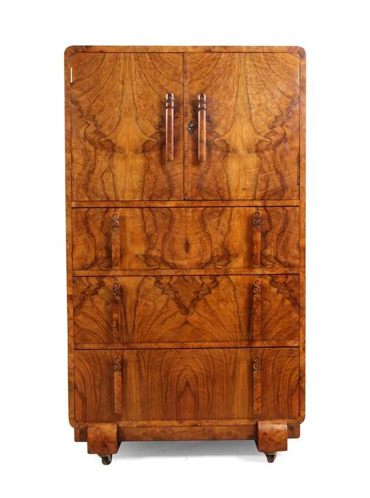 Art Deco Tallboy in Walnut c1930