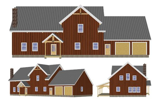 17 best images about bb ideas on pinterest house plans House barn combo plans