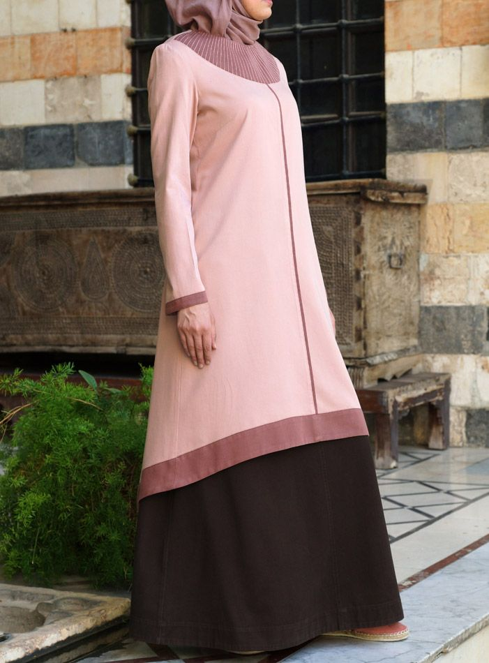 Such an elegant long #tunic. From shukrclothing.com
