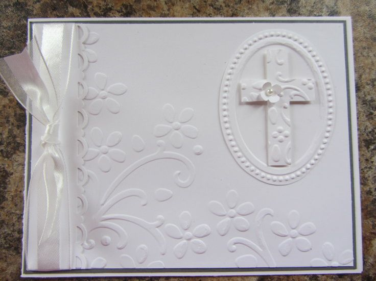 1st Communion card  photo only