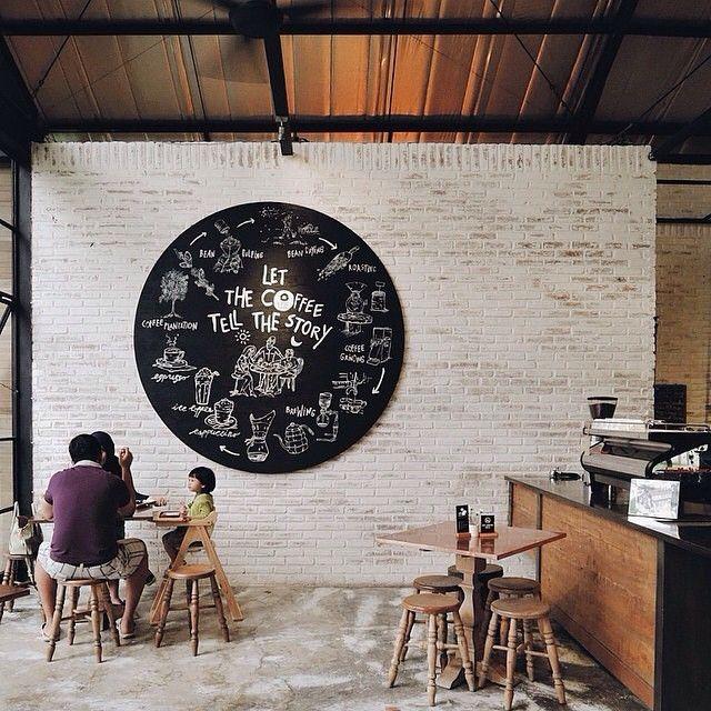Epic Coffee Yogyakarta, Indonesia Ideas de cafetería