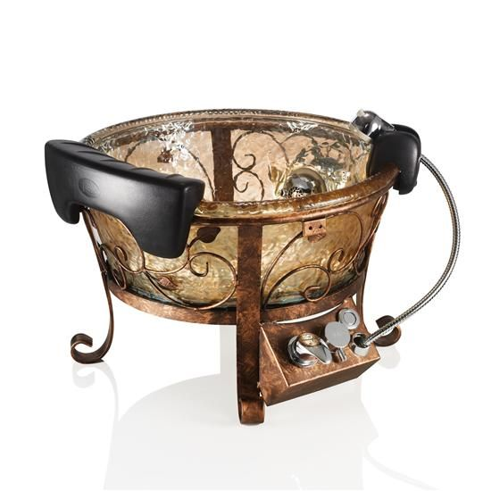 J&A Lenox GS Pedicure Bowl w/Stand POST YOUR FREE LISTING TODAY!   Hair News Network.  All Hair. All The Time.  http://www.HairNewsNetwork.com