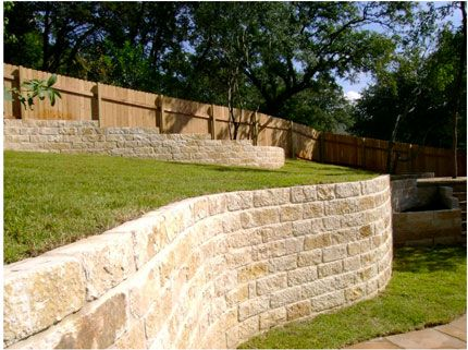 30 best Stone Retaining Wall images on Pinterest | Boulder retaining ...