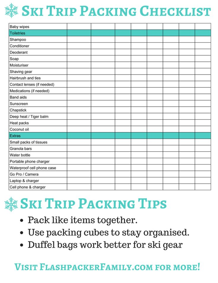 Best 25+ Ski trip packing list ideas on Pinterest What to wear - packing lists