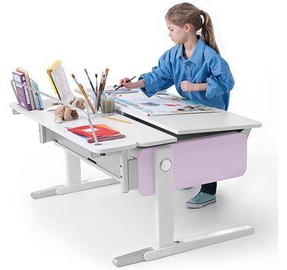 Höhenverstellbare Kinderschreibtische - Kindgerechte Sicherheit - Beste Ergonomie - Qualität mit Brief und Siegel