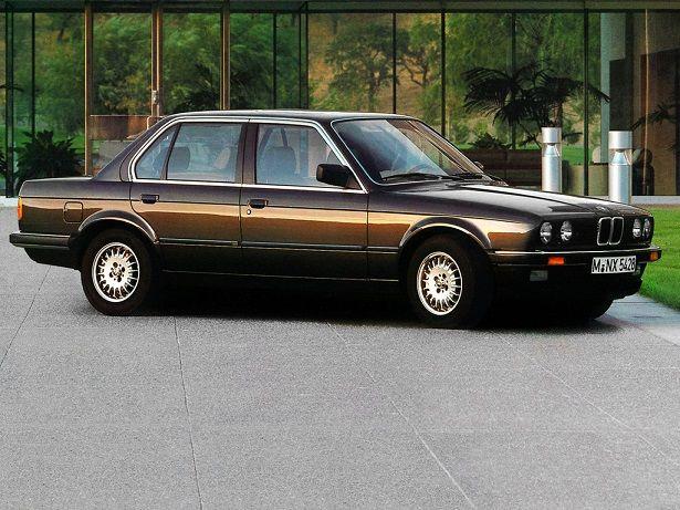BMW 325e Sedan (1983 – 1988).