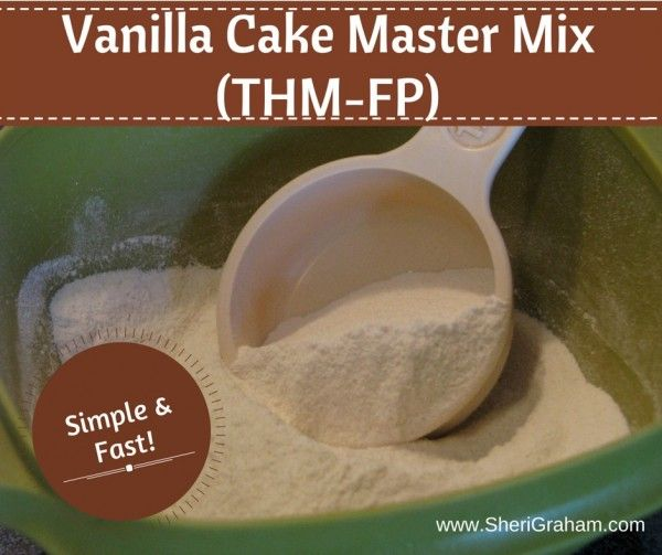 Vanilla Cake Master Mix (THM:FP)