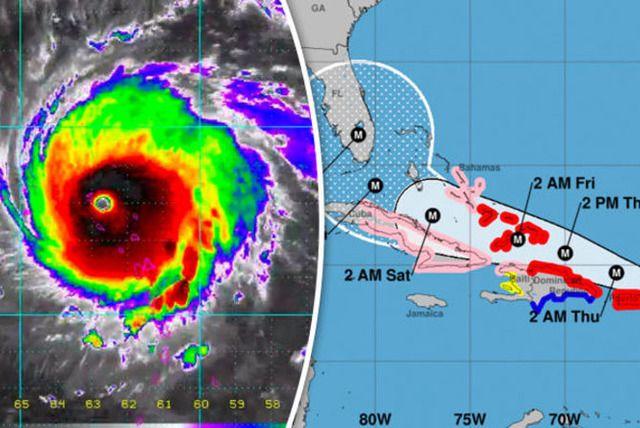Hurricane Irma path update LIVE: Latest NOAA track as models show hurricane to HIT Florida