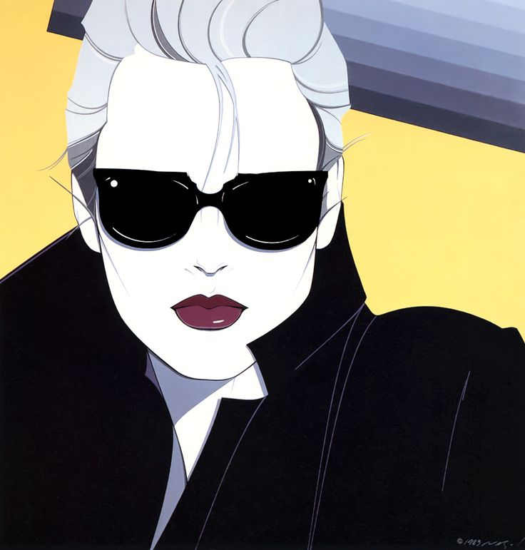 10 Of Our Favourite Fashion Illustrators: Patrick Nagel, an American artist with a very distinctive colour block style and an immense body of work in painting, illustration or sculpture.