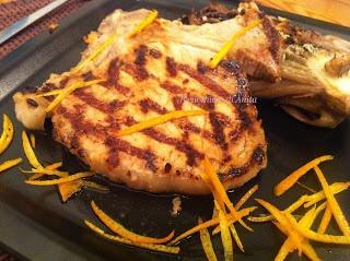 Braciole all'arancia - Chops with orange