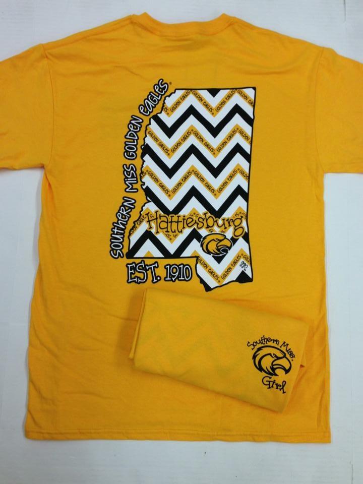 422 best usm images on pinterest mississippi alma mater for Alma mater t shirts