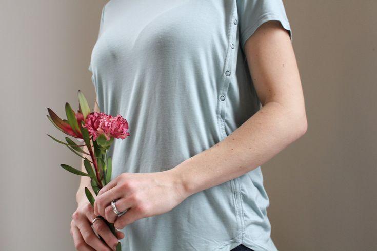 Cuarto Creciente  Breastfeeding friendly top!